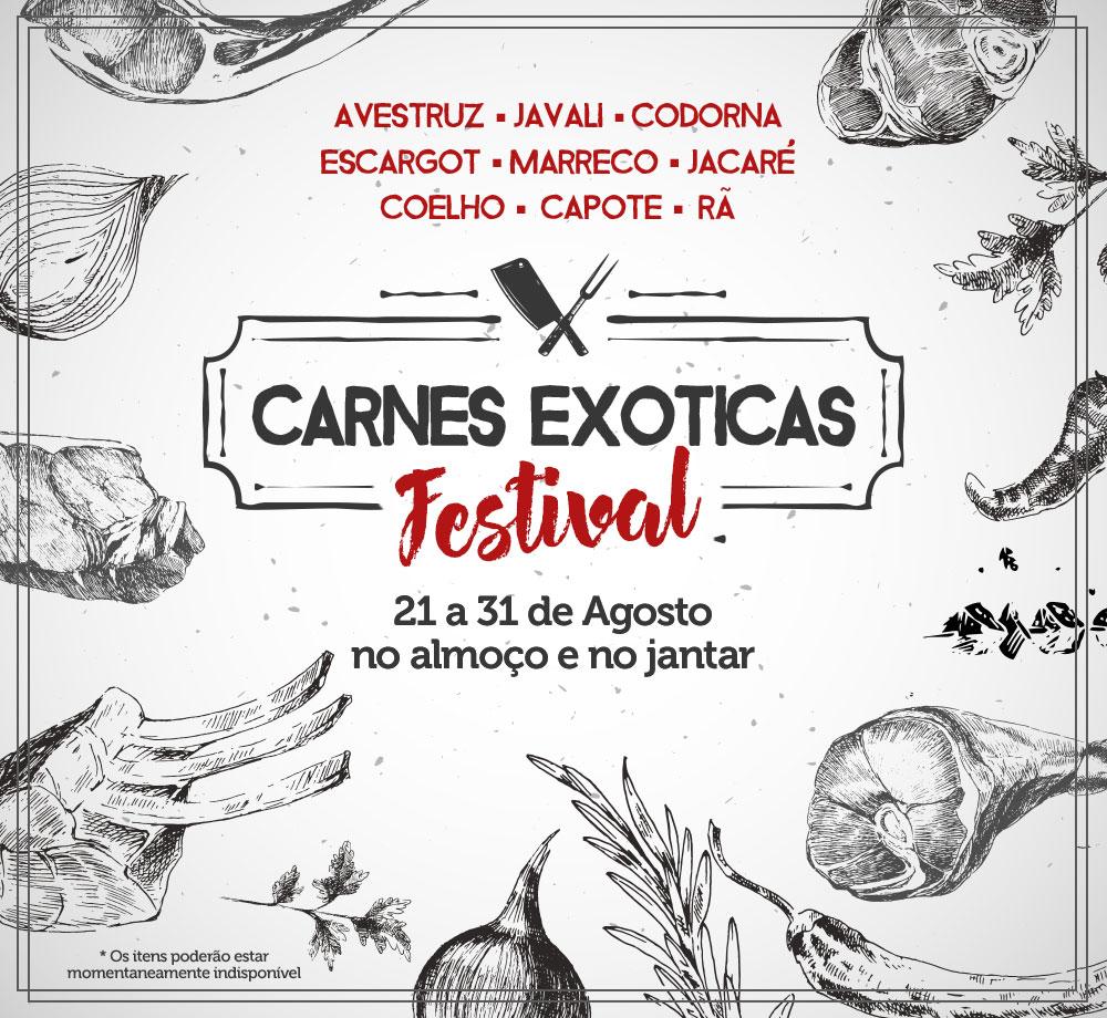 <p>Festiva de Carnes Exóticas - 2017</p>