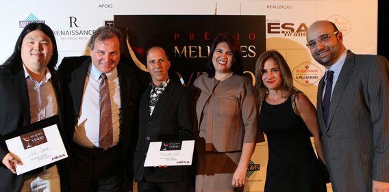 Prêmio Melhores do Vinho – Revista Prazeres da Mesa