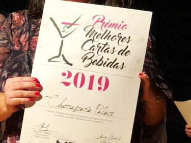 Prêmio Melhores Cartas de Bebidas 2019